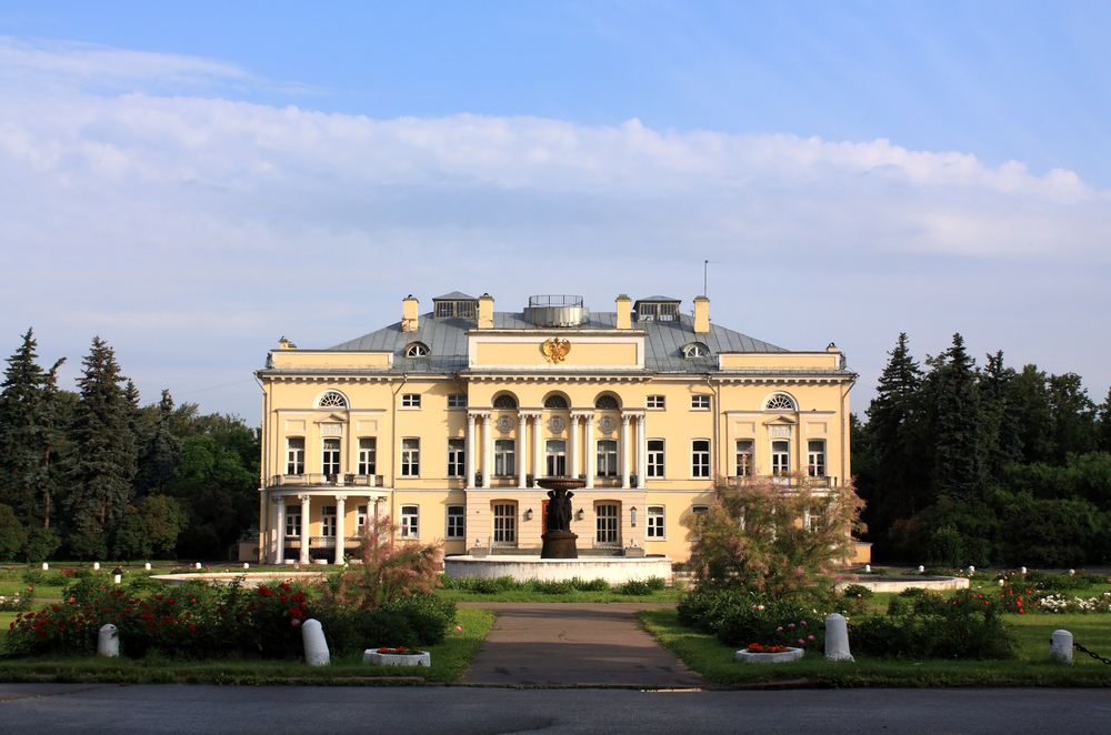 Russian country palace and grounds