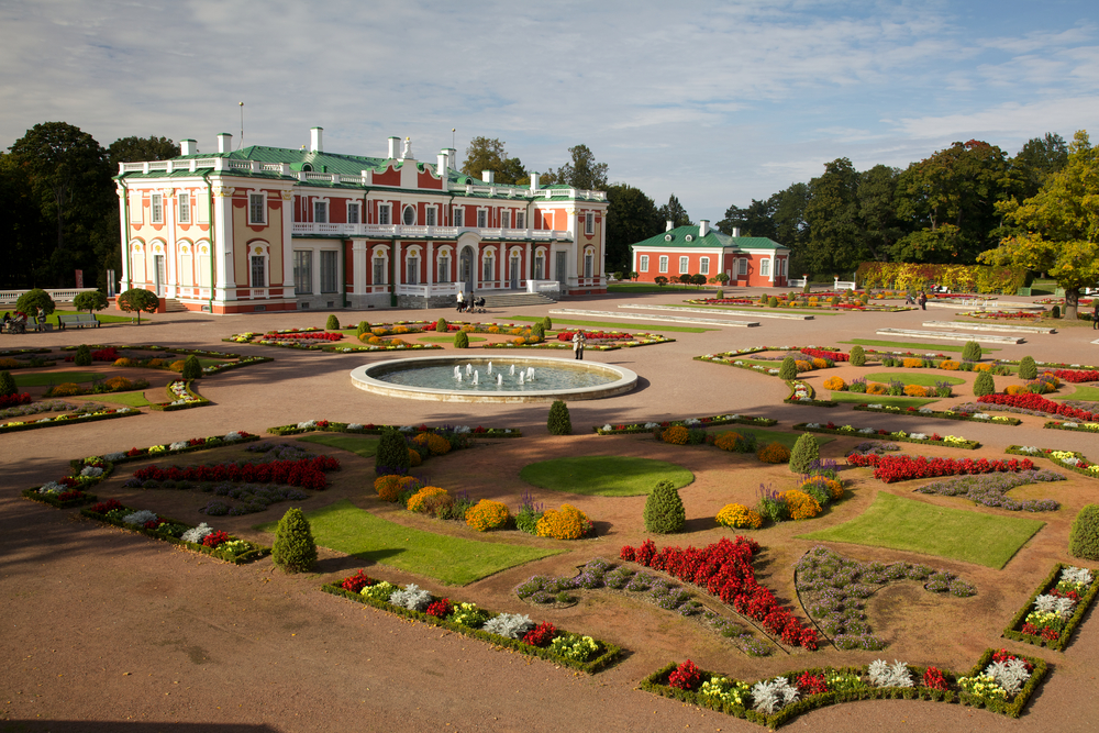 Palace in Kadriorg Area in Estonia