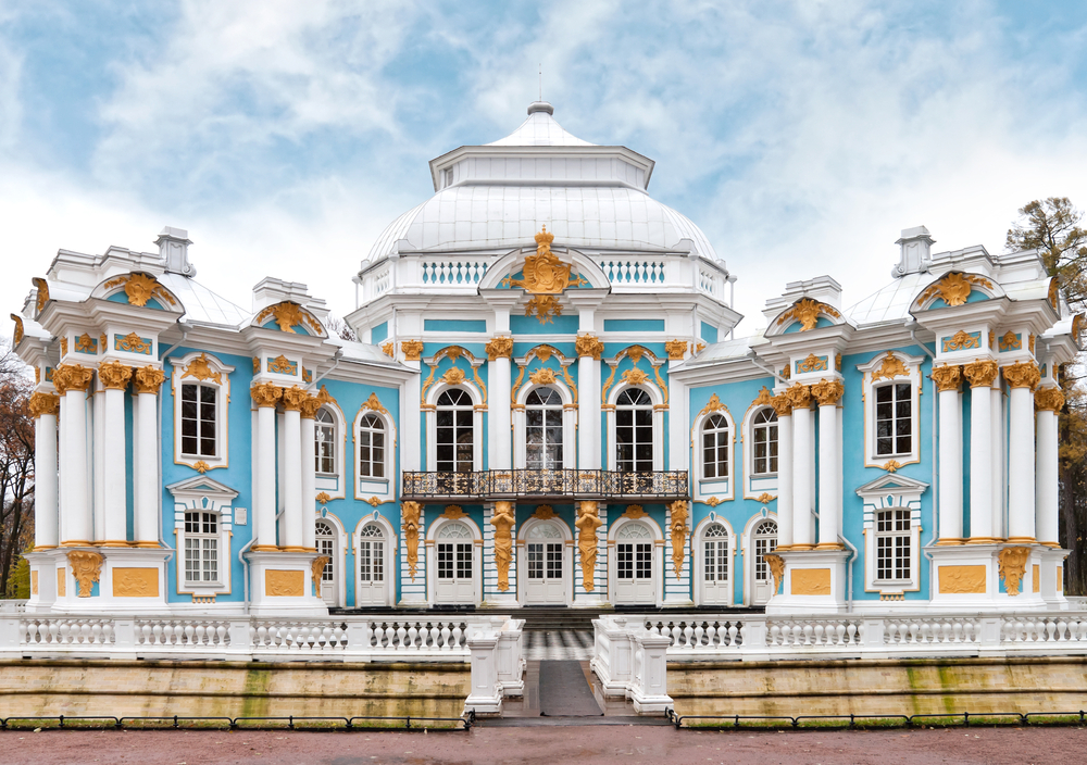 Hermitage Pavilion in St. Petersburg