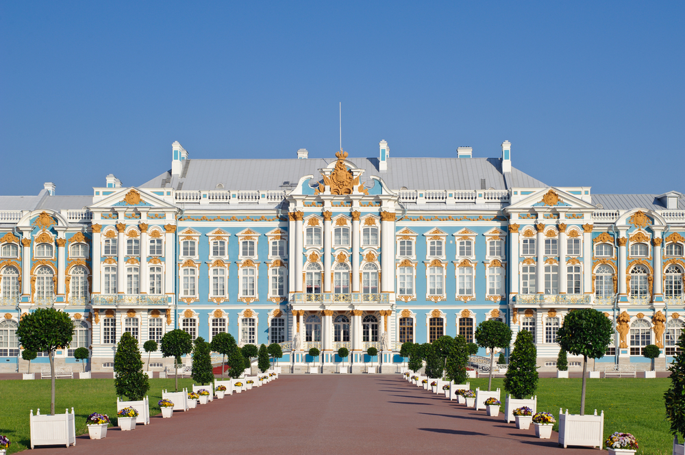 Catherine's Palace in Saint Petersburg