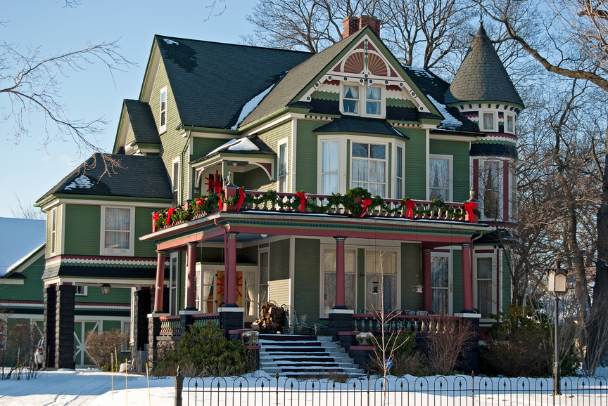 50 finest victorian mansions and house designs in the for Queen anne victorian house