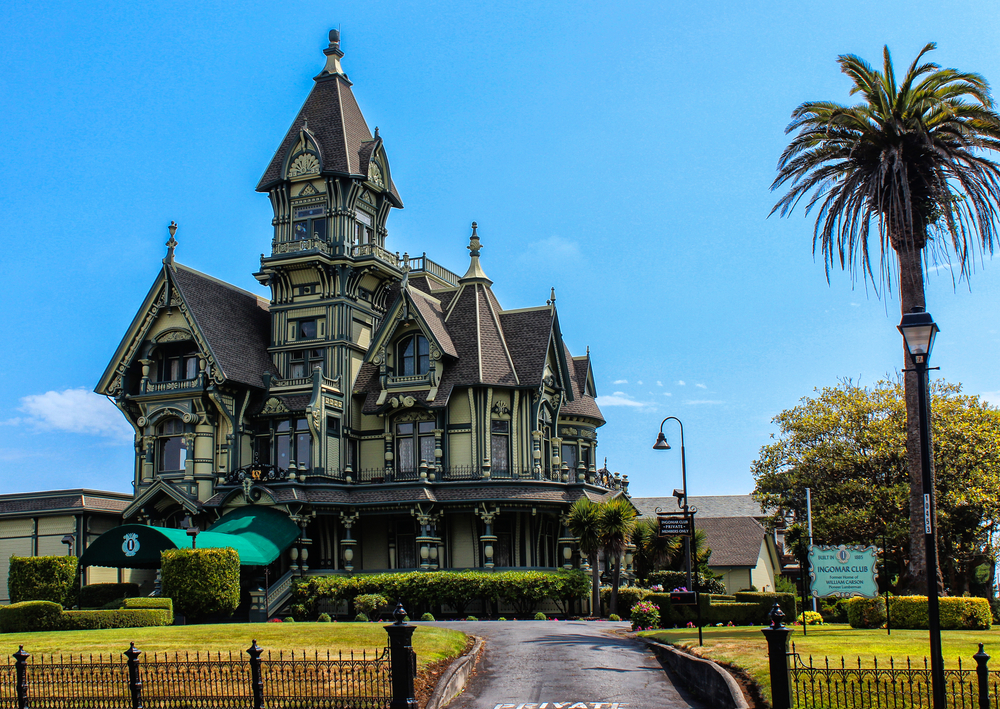 50 finest victorian mansions and house designs in the for Eureka house
