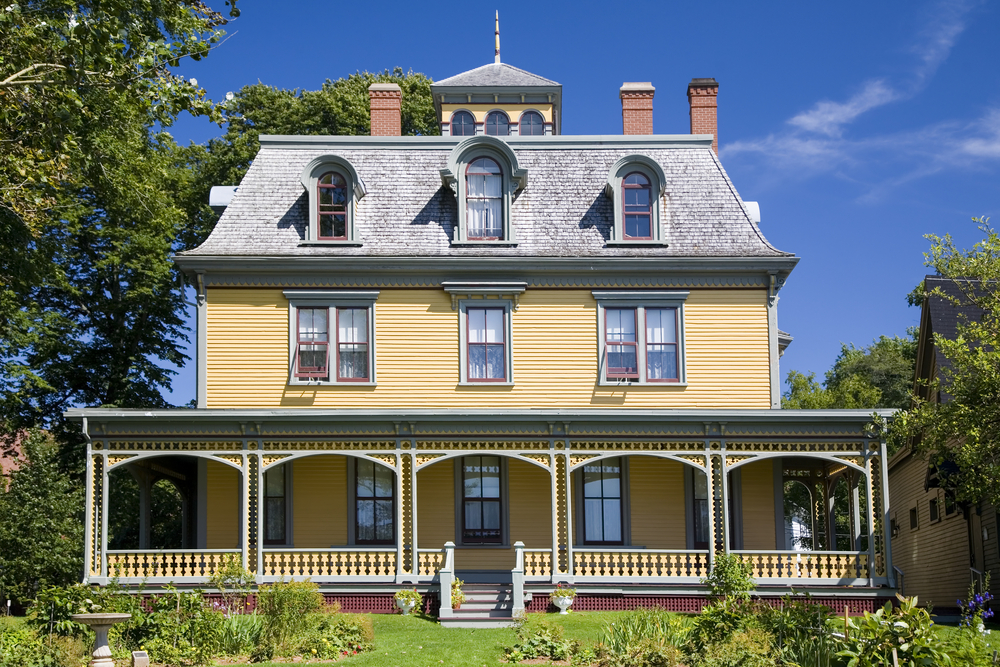 59 finest victorian mansions and house designs in the for Pei home builders