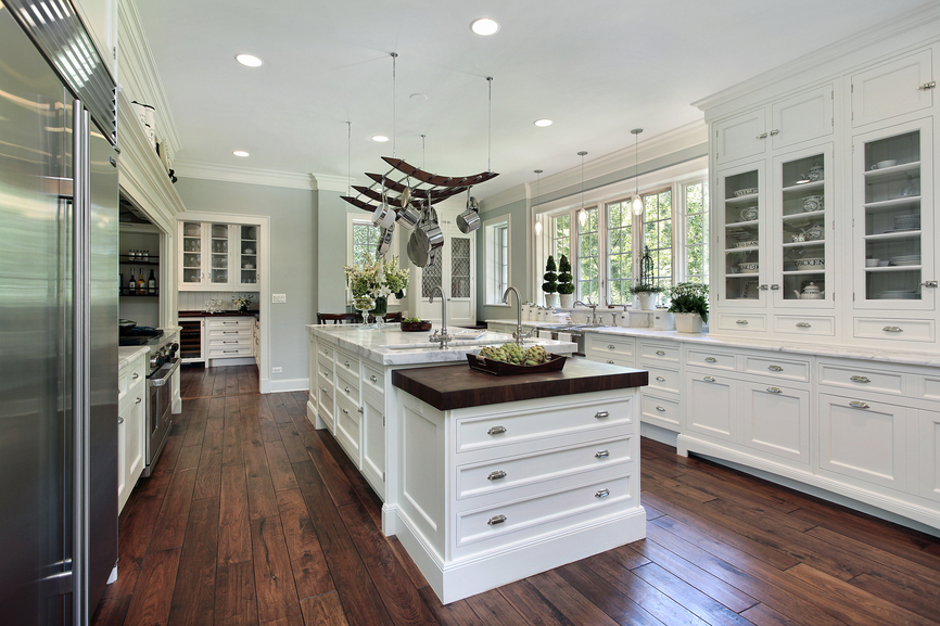 luxury white kitchen picture