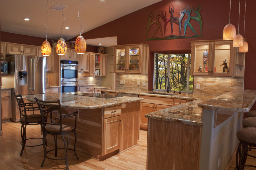 41 Pictures Of Luxury Wooden Kitchens