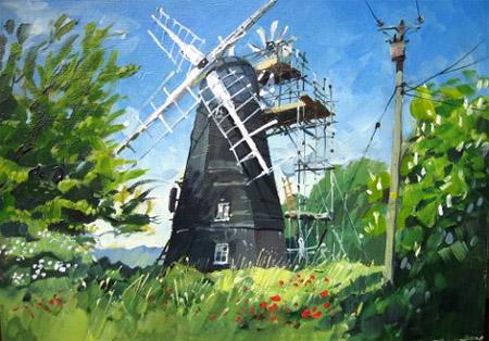 Great Thurlow windmill