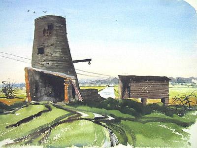 Strumpshaw Fen windmill