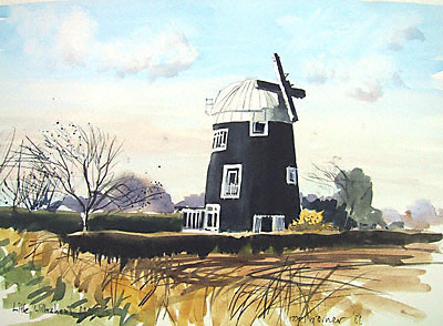 Little Wilbraham windmill