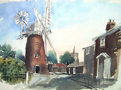 Bardwell Suffolk windmill