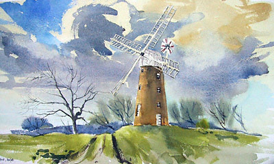 Billinghford windmill, Norfolk