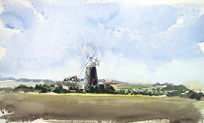 Burnham Overy windmill, Norfolk