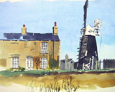 Over windmill, Cambridgeshire