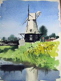 Rye smock mill