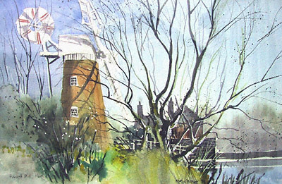 Hunsett draingage mill, Norfolk Broads