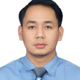 Cropped passport size photo