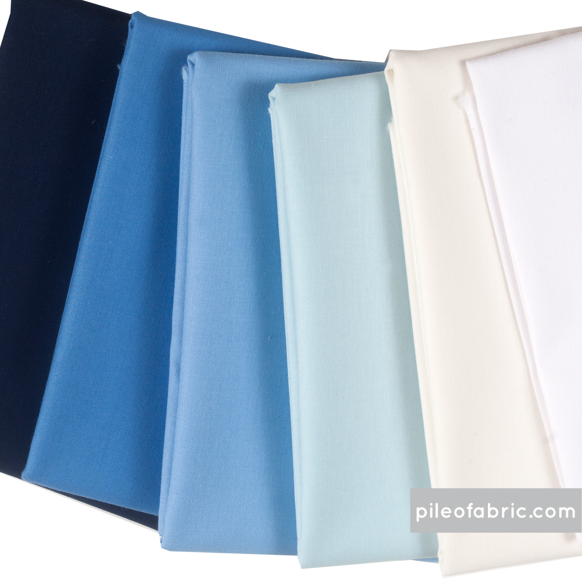 Blue Ice Bundle in Solids