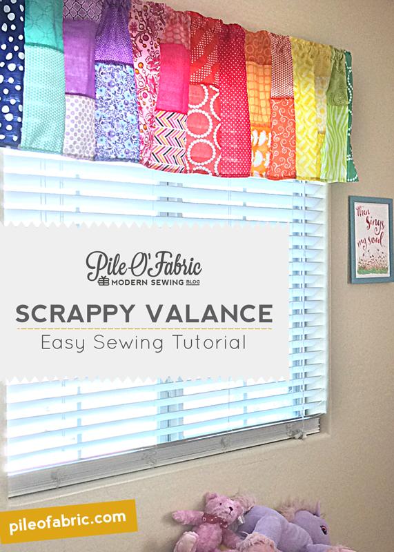 Scrappy Valance