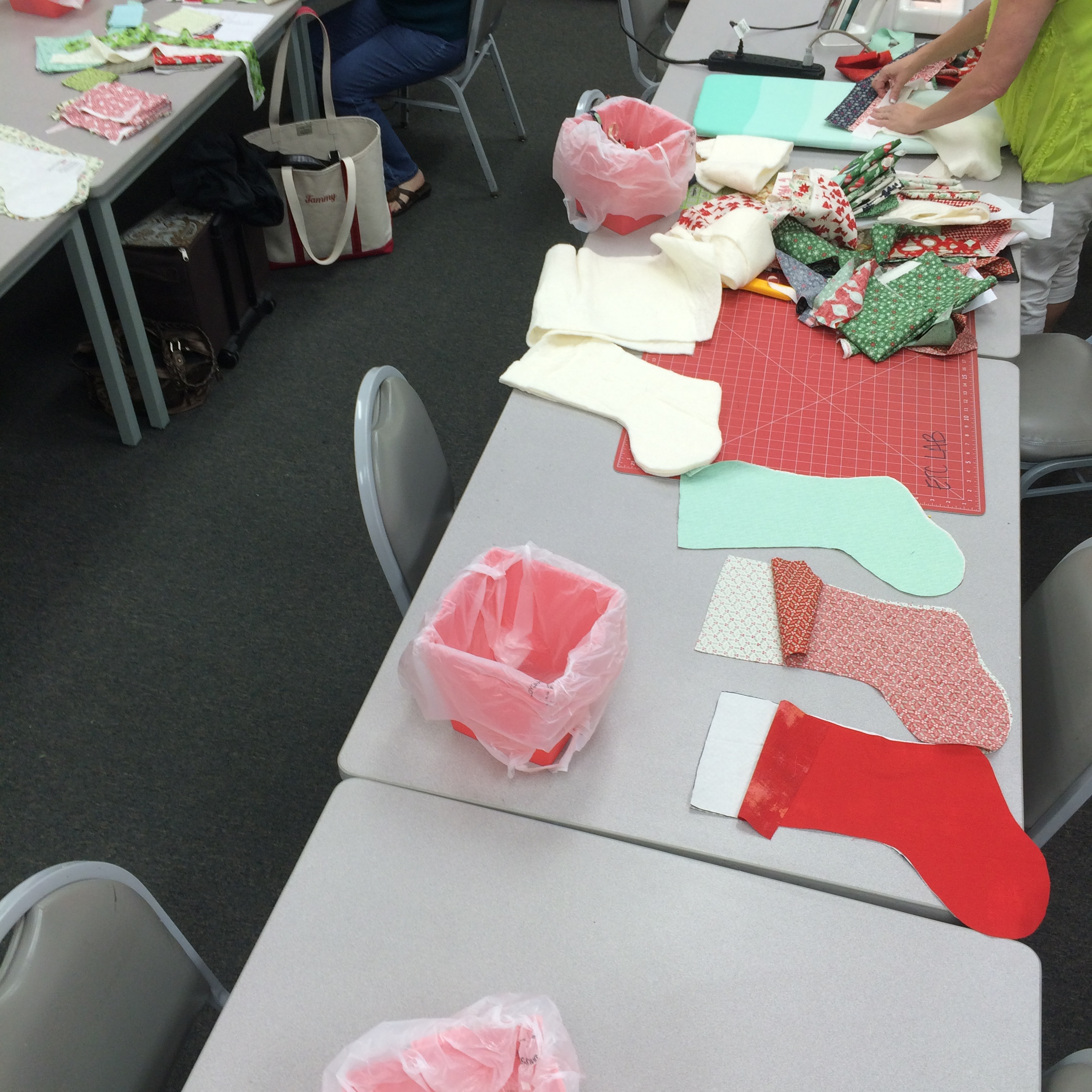 Scrappy Stockings Class