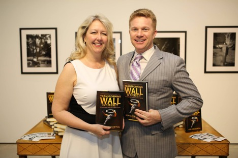 Eric Greschner and author of Wall Street 50 book signing, Octavia Art Gallery, New Orleans