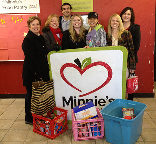 Minnie's Food Drive 2013