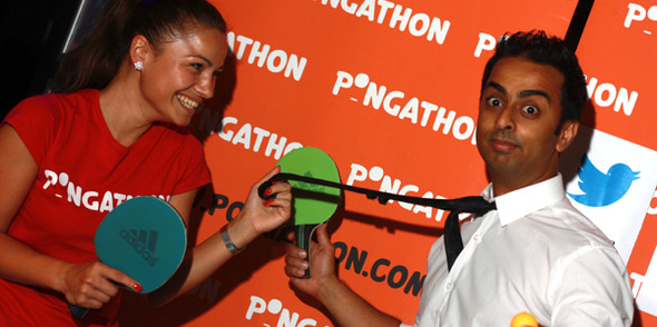 Pongathon, a ping pong party within a ping pong party