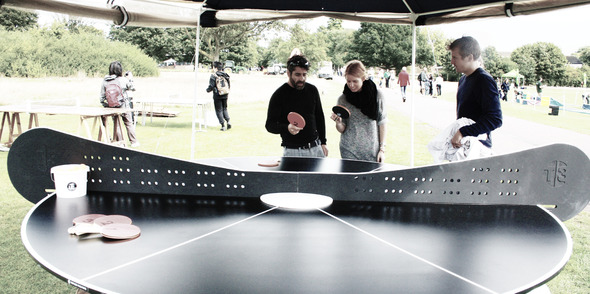 Pongathon gets involved with  revolutionary new T3 social ping pong table!