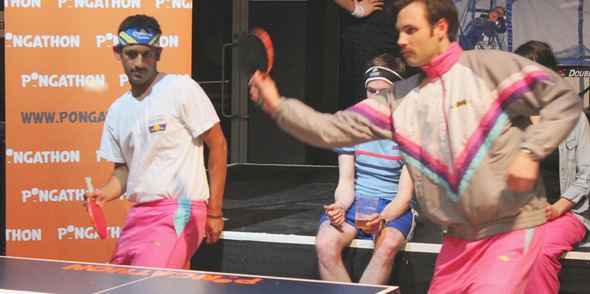 Pongathon to host Movember UK Ping Pong Championships November 19th Richmix, London