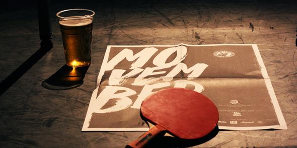 Movember Ping Pong Championships 2013