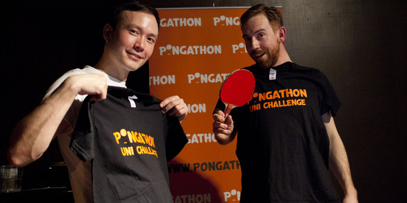 Last Pongathon at Prince of Wales..onwards and upwards for the glory of ping pong!