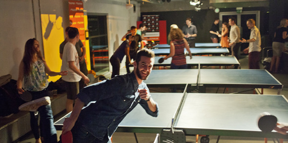 One for all and all for ping pong!