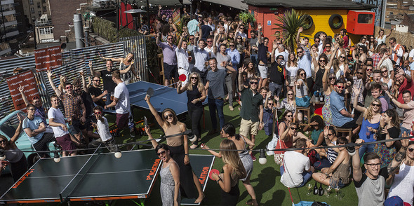 Ping Pong Summer parties with Pongathon!