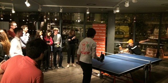 Pongathon helped Jack celebrate his annual birthday ping pong get together!