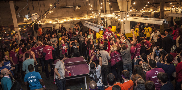 The Ping Pong Fight Club Championships 2015!