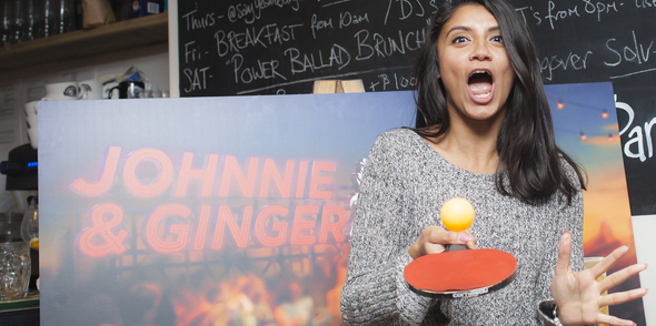 YPlan and Pongathon get together with Johnny Walker Red Lable for some ping pong fun!