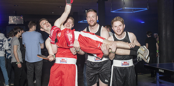 Pongathon are a 'knockout' at opening night of Snowbombing 2016!