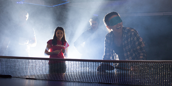 Pongathon had a full house with Ping Pong Pingo at Snowbombing!