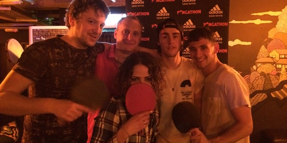 Pongathon always 'Serves You Right' at Queen of Hoxton Every Tuesday!