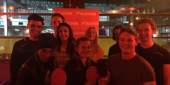 Pongathon wows with Serves You Right at Queen of Hoxton!