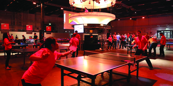 Pongathon takes over Sweden for huge ping pong event!