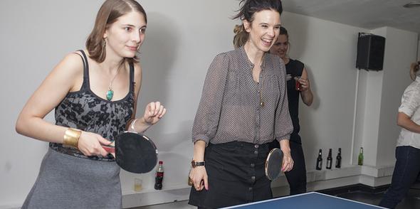 Serious Ping Pong Fun with Reprieve