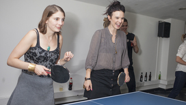 Serious Ping Pong Fun with Reprieve