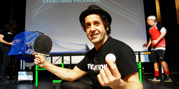 Want something completely different? Why not bolt on a Pongathon Ping Pong Party to your Xmas Bash?