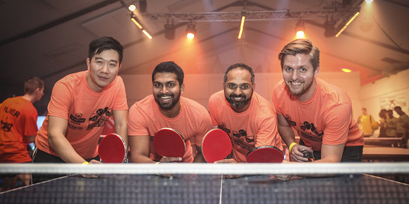 Ping Pong Fight Club, an exciting new team building and networking experience!
