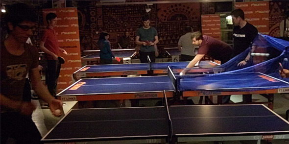 Pongathon Tuesdays: Ping Pong, Hula Pong and the Pongbot