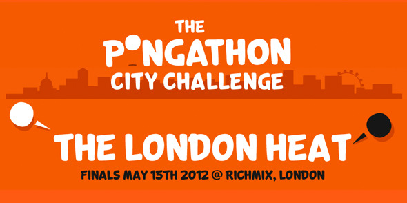 The Pongathon City Challenge Finals are tomorrow!