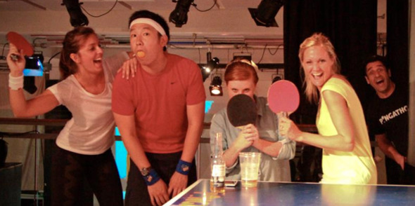 Book your Christmas Ping Pong Party with Pongathon!