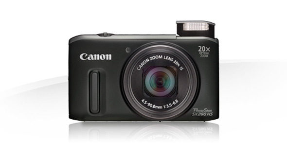 Enter the Pongbot Challenge and win a Canon Power Shot SX260 camera at Pongathon!
