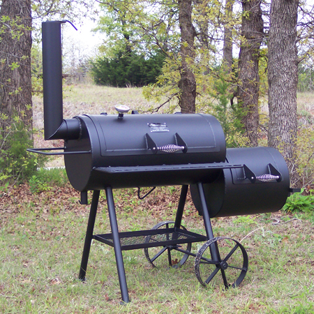 out this Classic Backyard Smoker made in Perry, OK by ...