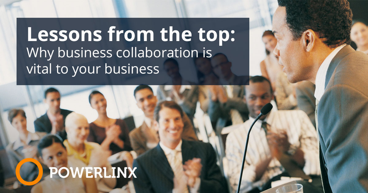 Lessons from the top: Why business collaboration is vital to your business