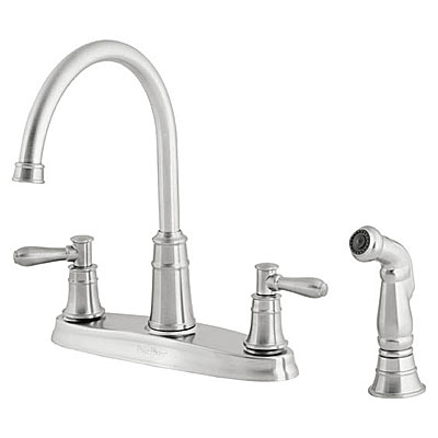 two handle kitchen faucet high arc t36 36 series harbor collection install troubleshoot - Pfister Kitchen Faucet